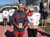Dick Longo and Fe Laughlin, Overall Legends Division winners.